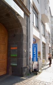 The doorway to the Goethe-Institut-Berlin
